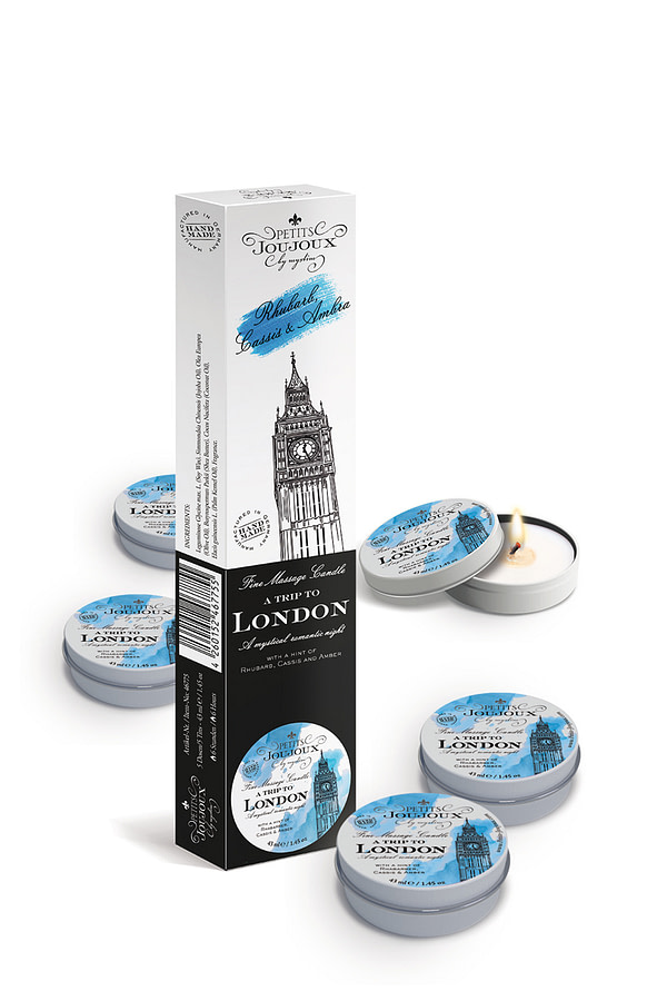 Petits JouJoux Massage Candle London 43ml Refill (5pc)