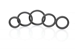 Boneyard Silicone Ring 5 Pcs Kit
