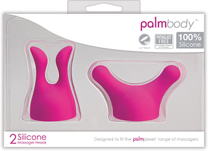 PalmBody Massager Heads (For use with Palm Power)