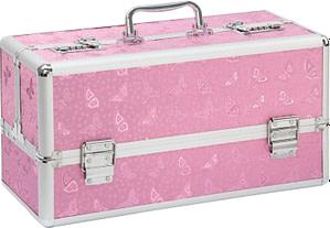 Lockable Large Vibrator Case Pink