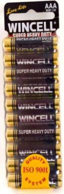 Wincell Super Heavy Duty AAA Shrink 10Pk Battery