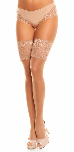 Glamory Plus Comfort 20 Hold Ups Make-Up