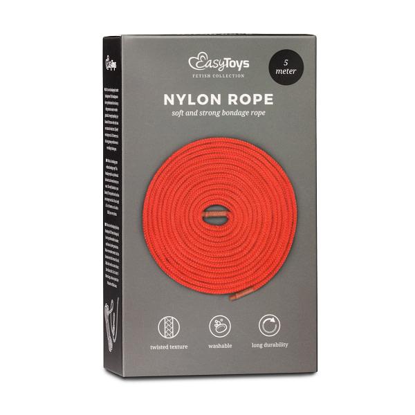 Bondage Rope 5m Red