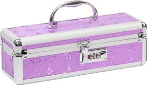 Lockable Medium Vibrator Case Purple